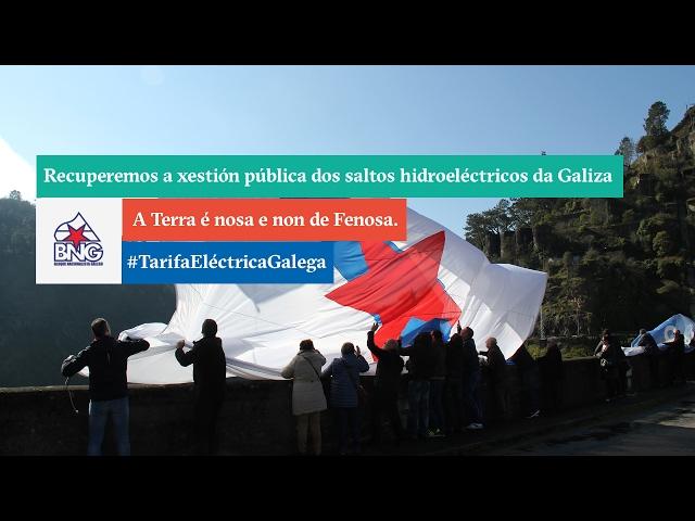Recuperemos a xestión pública dos saltos hidroeléctricos da Galiza