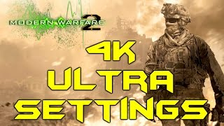 COD: MODERN WARFARE 2 PC 4K ULTRA GRAPHICS (PC Max Settings Gameplay)