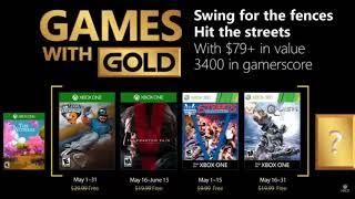 GAMES WITH GOLD XBOX MAYO - JUNIO 2018 CONFIRMADOS 100% REAL NO FEIK