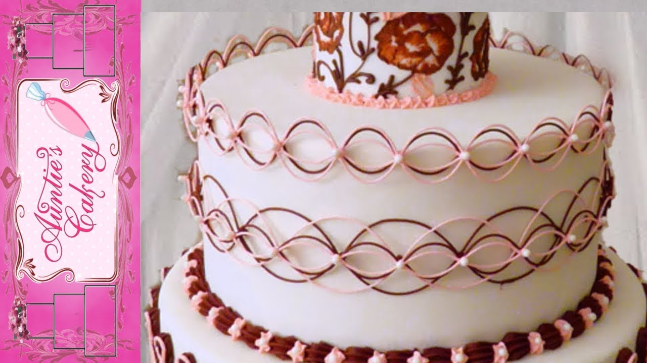 Maroon Marvel Middle Tier Display Wedding Cake Youtube