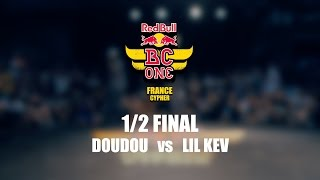 Półfinał Red Bull BC One France Cypher 2016: Doudou vs Lil Kev