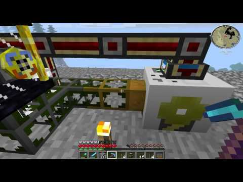 Minecraft FTB Oil Refinery tutorial