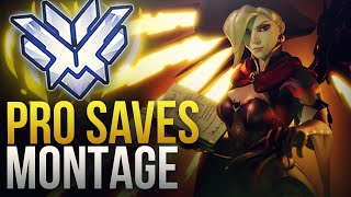 PROS MAKE EPIC SAVES - Overwatch Montage