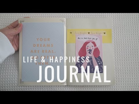 How to make a Life / Happiness Journal