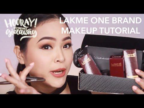 lakme-one-brand-makeup-tutorial- -giveaway- -regina-yoshida