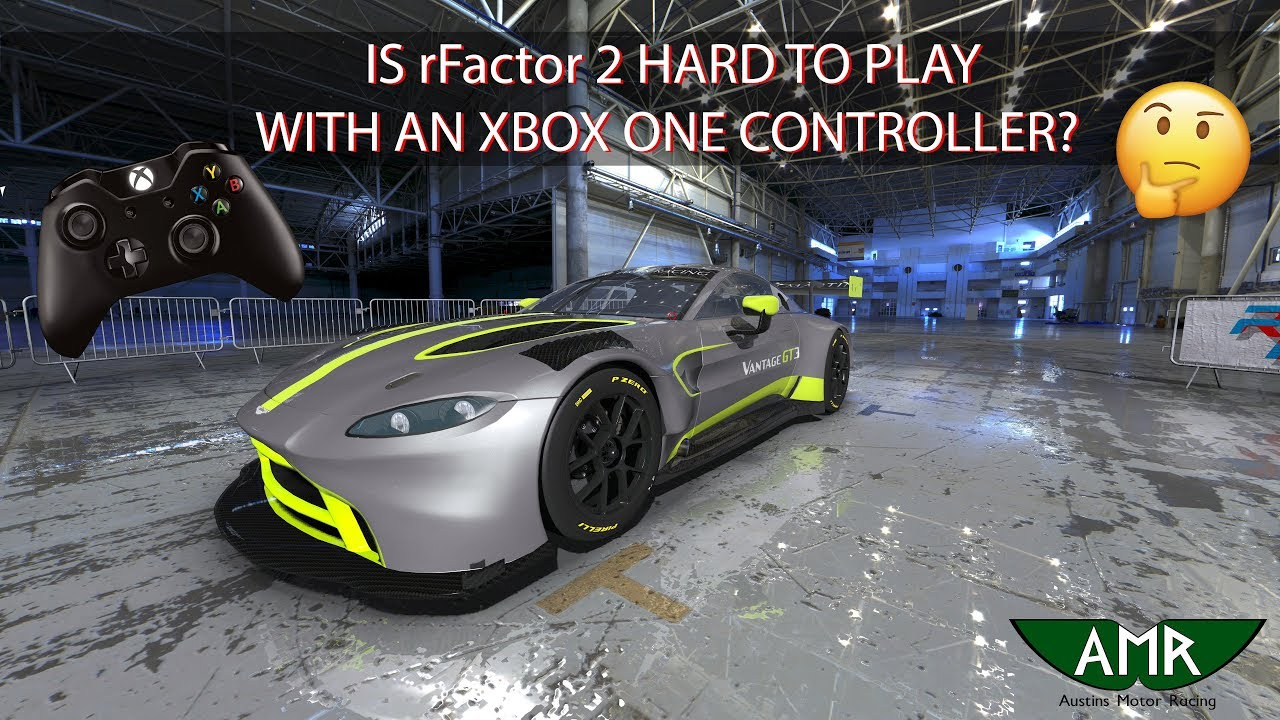 Is rFactor 2 Hard To Play With An XBOX One Controller?