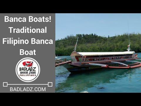 Banca Boats! Traditional Filipino Banca Boat