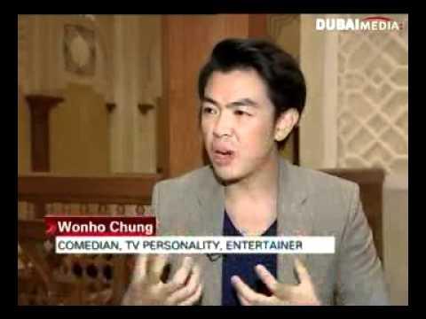 Wonho Chung on Emirates News ونهو تشونغ على أخبار الإمارات