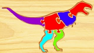Repeat youtube video Dinosaur Kids Games - Kids Learn ABC Dinosaurs - Educational Videos for Kids - First Kids Puzzles