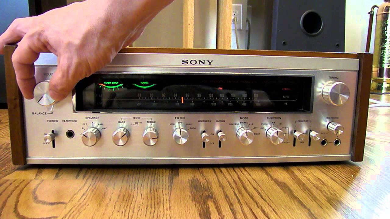 Sony Str 7065 Receiver Main Demonstration Youtube