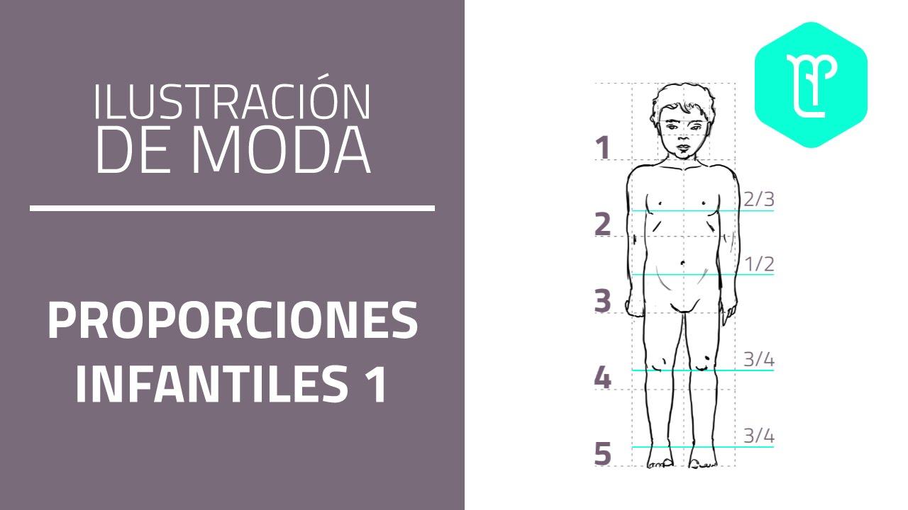 Como dibujar la figura infantil: proporciones niño 3 años - YouTube