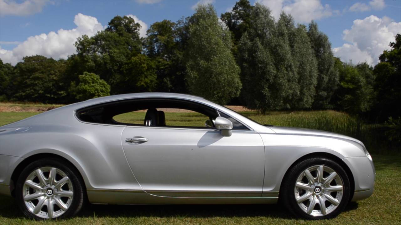 Bentley continental gt coupe 2004 model youtube bentley continental gt coupe 2004 model vanachro Gallery