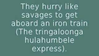 Civilization - Danny Kaye & The Andrews Sisters w/onscreen lyrics