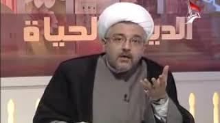 الشيخ محمد كنعان - النبي محمد صلى الله عليه وآله وسلم نعى الإمام الحسين عليه السلام منذ ولادته
