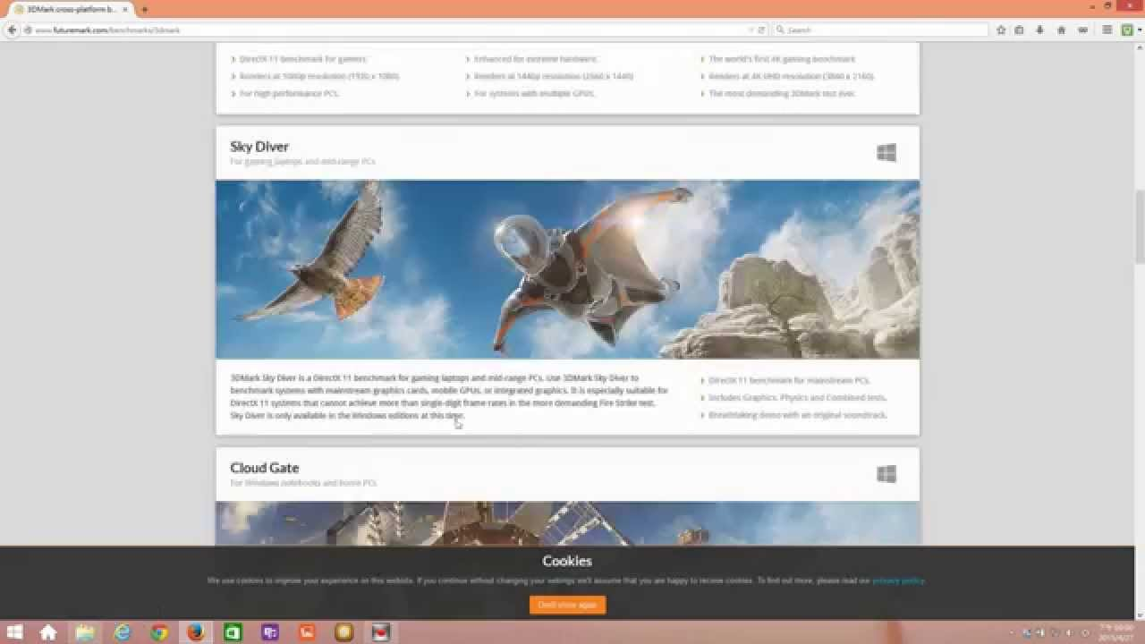 Install 3DMark and Test your Graphics Card