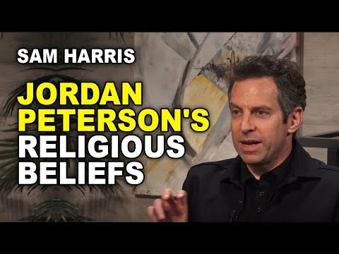 Harris On Peterson's Religious Beliefs And The Power Of Stories