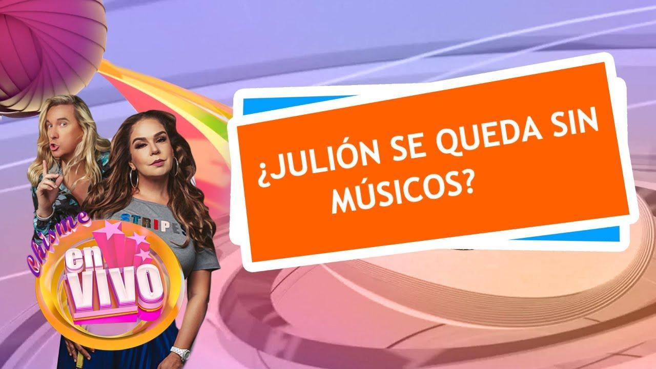 JULION ALVAREZ separación de sus músicos | Chisme En Vivo