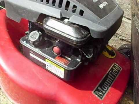 Briggs And Stratton Lawnmower Fix Attempt 1 Youtube