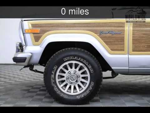 1989 Jeep Grand Wagoneer Used Cars   Denver,Colorado   2015 07 28