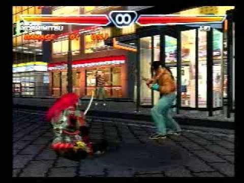 Tekken 4 Hidden Move Yoshimitsu S Indian Stance Motion Taunt 2