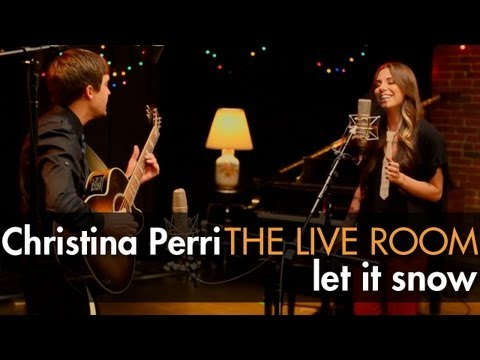 """Christina Perri - """"Let It Snow"""" captured in The Live Room"""