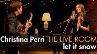 "Christina Perri - ""Let It Snow"" captured in The Live Room"