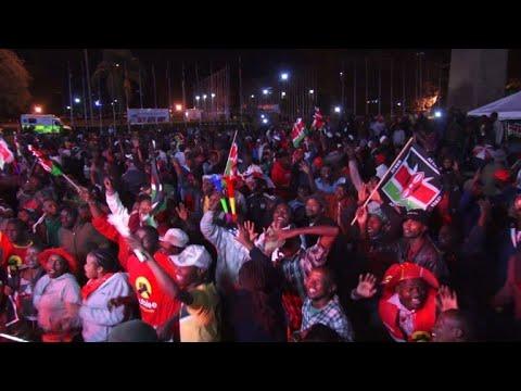 Kenya: Celebrations and riots erupt as Kenyatta wins vote