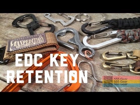 "EDC Key Retention Fobs ""10 Ways to Never Lose Keys Again"" Maxpedition, Leatherman & More"