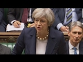 Theresa May he can lead protest , I'm leading a country - Brexit ,Trump State Visit  discussed