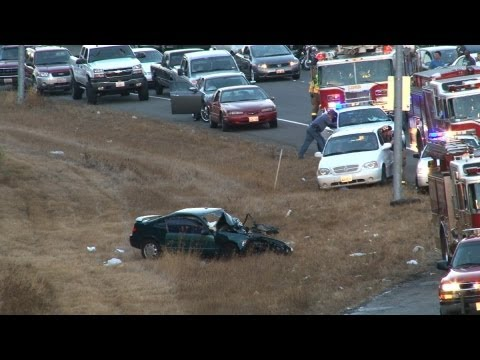 Three Car Serious Injury Head On Accident SR 512 Near The