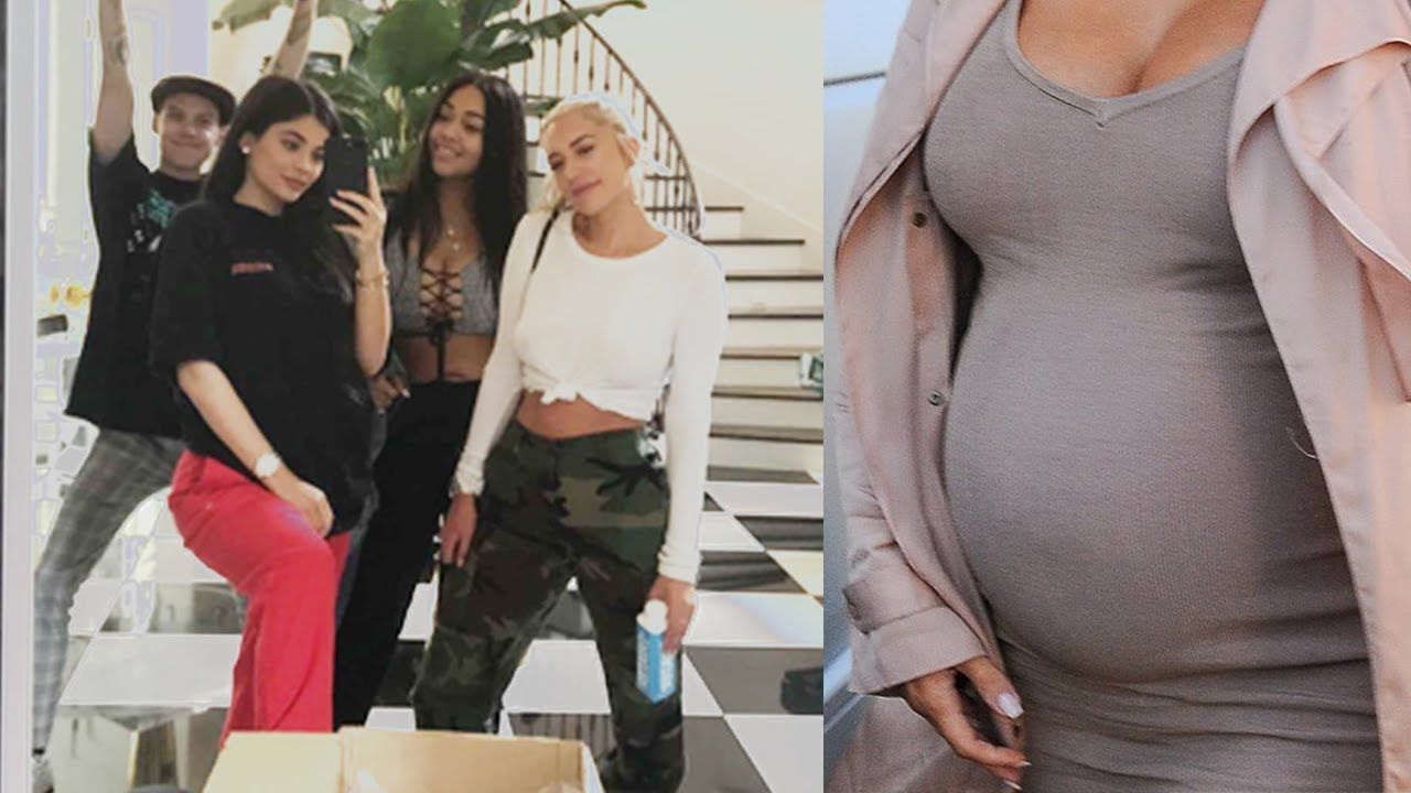 Breaking News Kylie Jenner Is Pregnant With Travis Scotts Baby