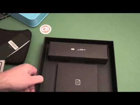 BlackBerry PlayBook Unboxing