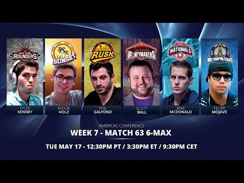 Replay GPL Week 7 - Americas Conference 6-max Match 1 - W7M63