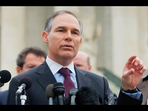 The Stupidity Runs Deep: EPA Head, Scott Pruitt, Rejects Carbon Dioxide's Impact on Climate