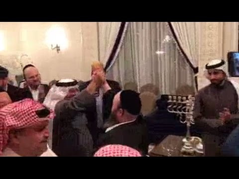 Jews and Muslims celebrate Hanukkah in Bahrain