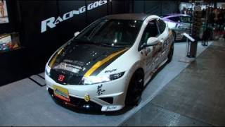 video thumbnail of Tokyo Auto Salon 2011 --J's Racing Honda CR-Z- Junichi Umemoto Interview