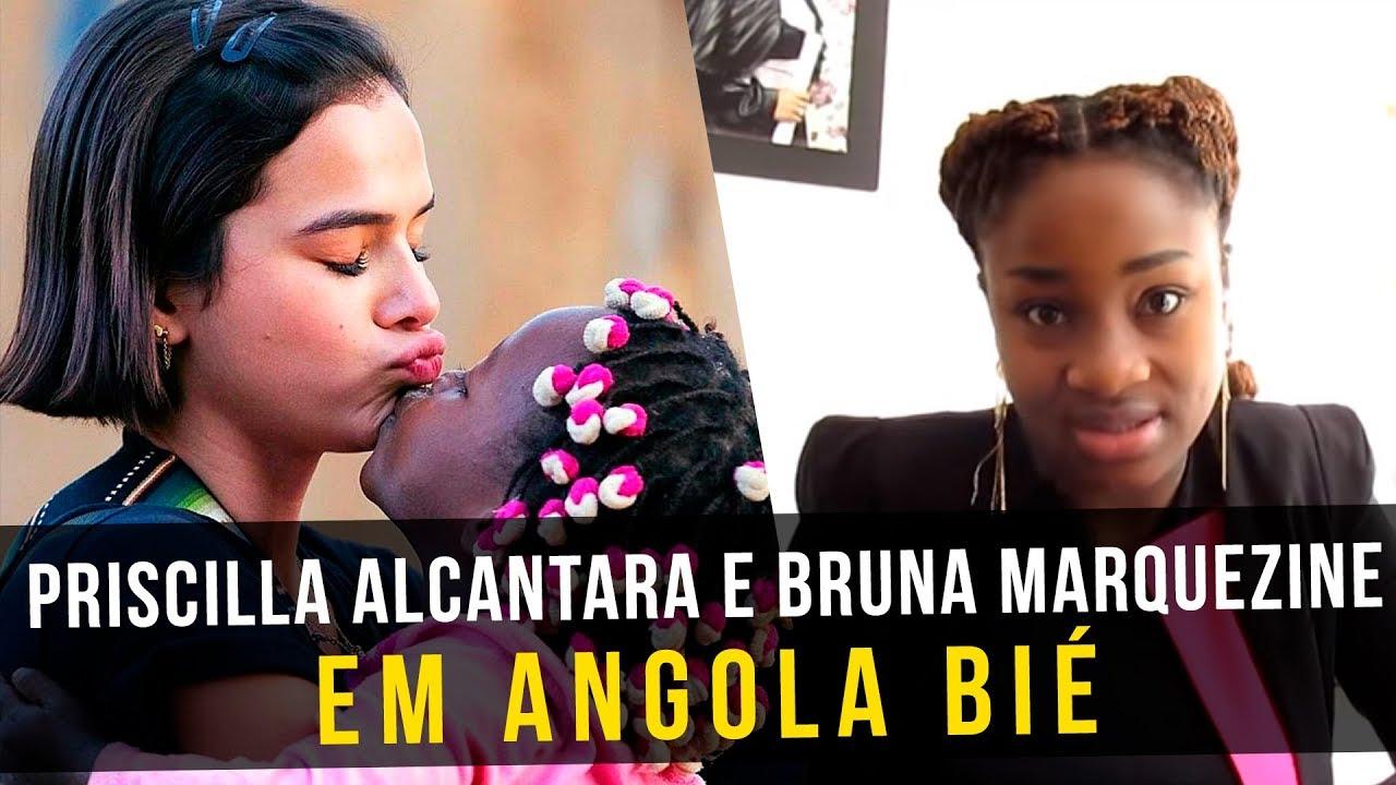Priscilla Alcantara e Bruna Marquezine em Angola Bié | ALDEIA NISSI