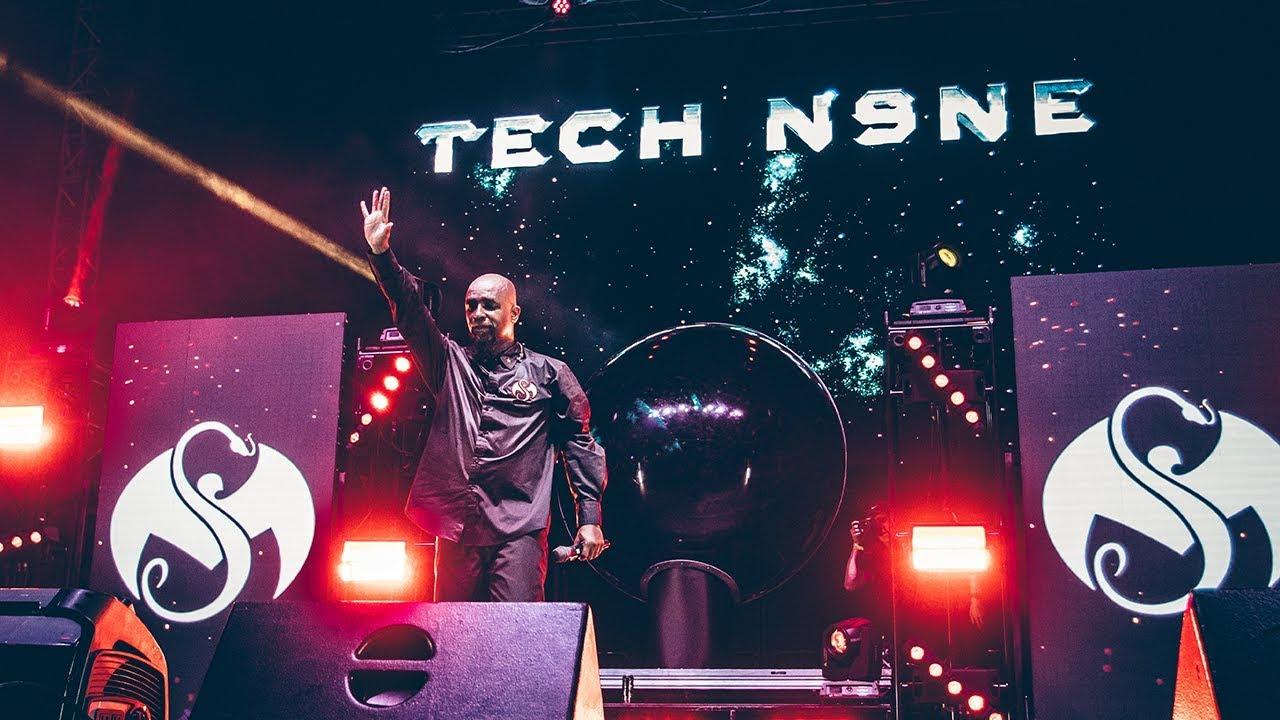 Tech N9ne Tour 2020.Tech N9ne S Independent Grind Tour 2018 Starts In October