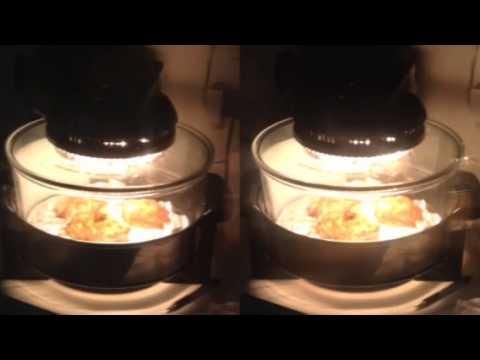 Tinfoil In Sharper Image Super Wave Oven Youtube