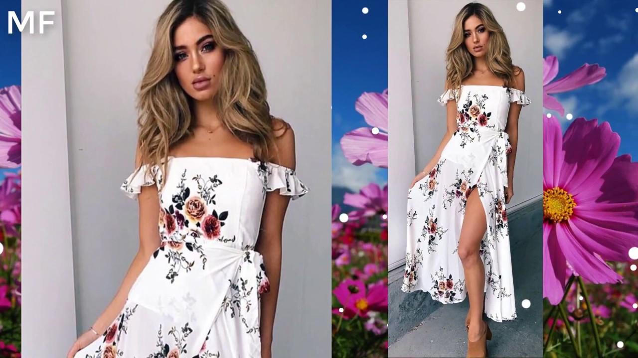 Imagenes de vestidos de verano 2019