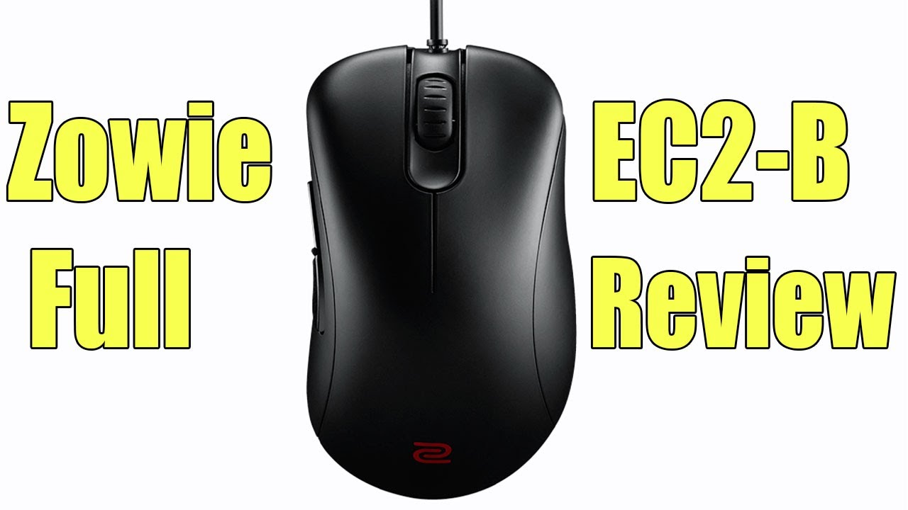 Zowie EC2-B Gaming Mouse Full Review - The Best FPS Mouse?