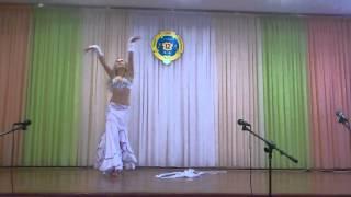 восточный танец с лентами