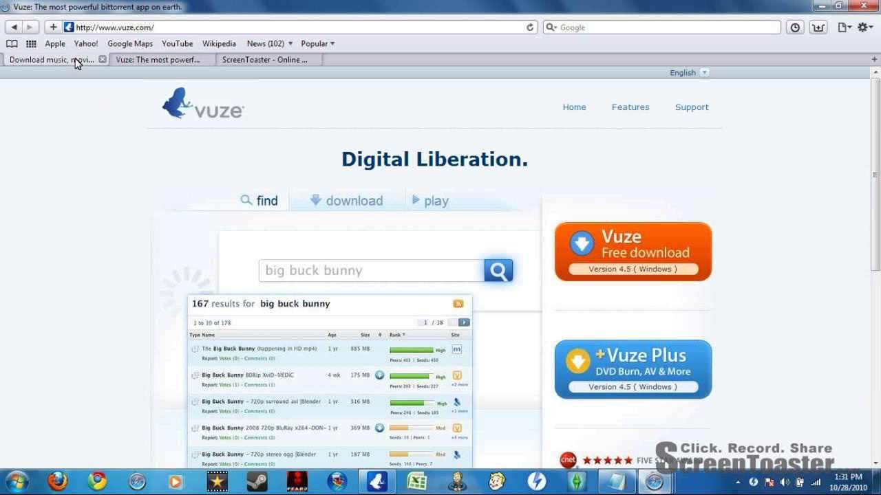 How To Use Vuze and The Pirate Bay