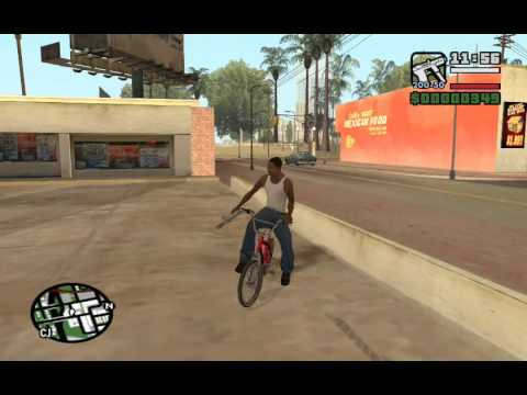 Starter Save - Part 1 - GTA San Andreas PC - complete walkthrough (all details) - achieving 13.37%