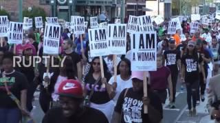 USA  Hundreds demand higher wages in Memphis on anniv  of MLK's assassination