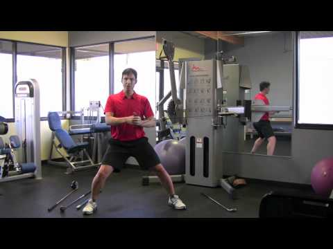 Exercise to increase rotational Golf strength in the gym.