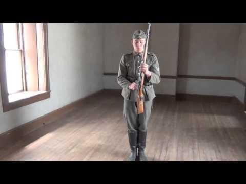 German Infantry Drill