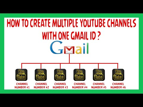 How To Create Multiple Youtube Channels With One Gmail ID?