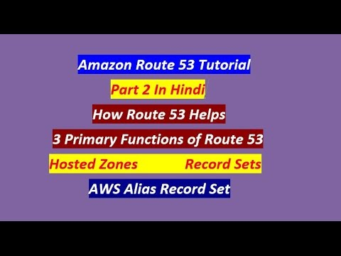 Part 2 | AWS Route 53 Tutorial For Beginners (In Hindi) | Amazon Route 53