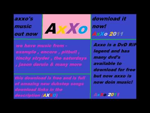 axxo dubstep collection july 2011